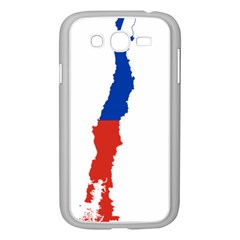 Flag Map Of Chile  Samsung Galaxy Grand Duos I9082 Case (white)