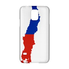 Flag Map Of Chile  Samsung Galaxy S5 Hardshell Case  by abbeyz71