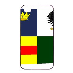 Four Provinces Flag Of Ireland Apple Iphone 4/4s Seamless Case (black)