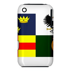 Four Provinces Flag Of Ireland Apple Iphone 3g/3gs Hardshell Case (pc+silicone)