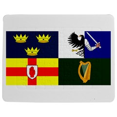 Four Provinces Flag Of Ireland Jigsaw Puzzle Photo Stand (Rectangular) by abbeyz71
