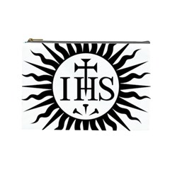 Society Of Jesus Logo (jesuits) Cosmetic Bag (large)  by abbeyz71