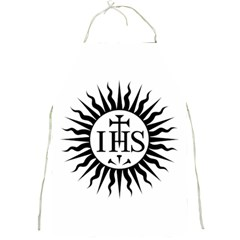 Society Of Jesus Logo (jesuits) Full Print Aprons by abbeyz71