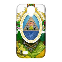 Coat Of Arms Of Honduras Samsung Galaxy S4 Classic Hardshell Case (pc+silicone)