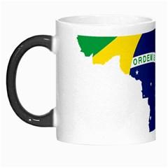 Flag Map Of Brazil  Morph Mugs