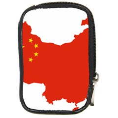 Flag Map Of China Compact Camera Cases by abbeyz71