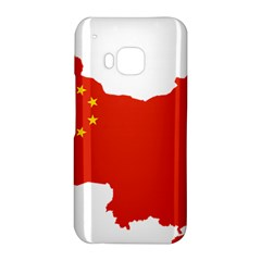 Flag Map Of China HTC One M9 Hardshell Case by abbeyz71