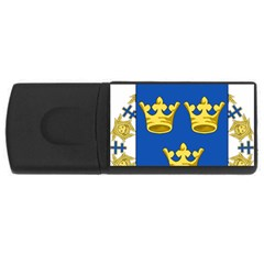Lesser Coat Of Arms Of Sweden USB Flash Drive Rectangular (4 GB)  by abbeyz71