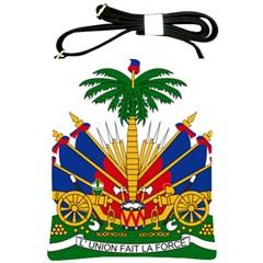 Coat Of Arms Of Haiti Shoulder Sling Bags by abbeyz71