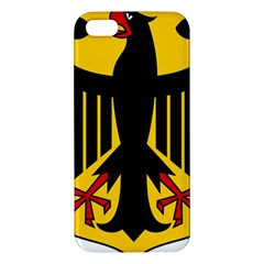 Coat Of Arms Of Germany Apple iPhone 5 Premium Hardshell Case by abbeyz71