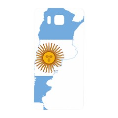 Flag Map Of Argentina Samsung Galaxy Alpha Hardshell Back Case