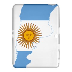 Flag Map Of Argentina Samsung Galaxy Tab 4 (10.1 ) Hardshell Case  by abbeyz71