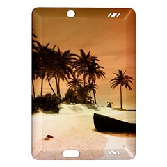 Wonderful Sunset Over The Beach, Tropcal Island Amazon Kindle Fire Hd (2013) Hardshell Case by FantasyWorld7