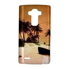 Wonderful Sunset Over The Beach, Tropcal Island Lg G4 Hardshell Case by FantasyWorld7