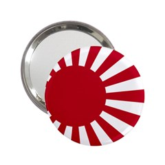 Ensign Of The Imperial Japanese Navy And The Japan Maritime Self Defense Force 2 25  Handbag Mirrors