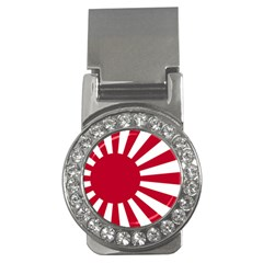 Ensign Of The Imperial Japanese Navy And The Japan Maritime Self Defense Force Money Clips (cz)