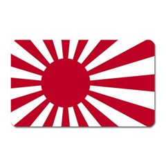 Ensign Of The Imperial Japanese Navy And The Japan Maritime Self Defense Force Magnet (rectangular)