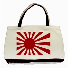 Ensign Of The Imperial Japanese Navy And The Japan Maritime Self Defense Force Basic Tote Bag