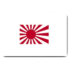 Ensign Of The Imperial Japanese Navy And The Japan Maritime Self Defense Force Large Doormat