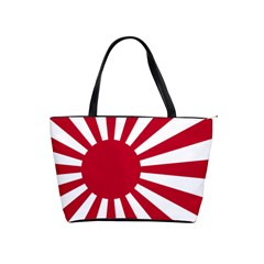 Ensign Of The Imperial Japanese Navy And The Japan Maritime Self Defense Force Shoulder Handbags