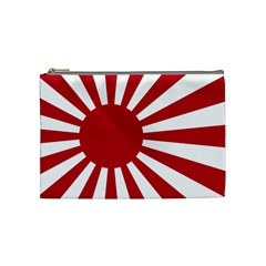 Ensign Of The Imperial Japanese Navy And The Japan Maritime Self Defense Force Cosmetic Bag (medium)