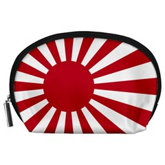 Ensign Of The Imperial Japanese Navy And The Japan Maritime Self Defense Force Accessory Pouches (large)  by abbeyz71