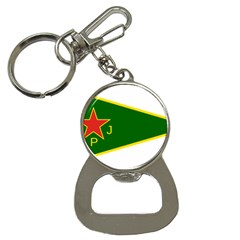 Flag Of The Women s Protection Units Bottle Opener Key Chains by abbeyz71