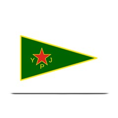 Flag Of The Women s Protection Units Plate Mats by abbeyz71