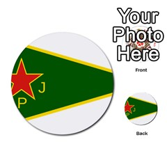 Flag Of The Women s Protection Units Multi Purpose Cards (round)  by abbeyz71