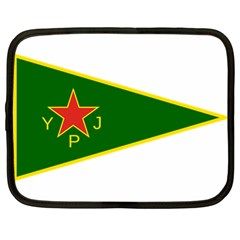 Flag Of The Women s Protection Units Netbook Case (large) by abbeyz71