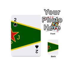 Flag Of The Women s Protection Units Playing Cards 54 (mini)  by abbeyz71