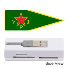 Flag Of The Women s Protection Units Memory Card Reader (stick)  by abbeyz71