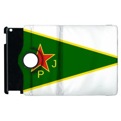 Flag Of The Women s Protection Units Apple Ipad 3/4 Flip 360 Case by abbeyz71