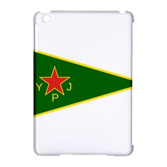 Flag Of The Women s Protection Units Apple Ipad Mini Hardshell Case (compatible With Smart Cover) by abbeyz71