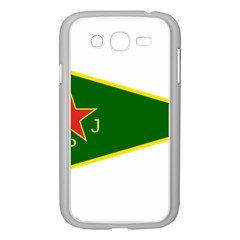 Flag Of The Women s Protection Units Samsung Galaxy Grand Duos I9082 Case (white) by abbeyz71