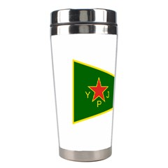 Flag Of The Women s Protection Units Stainless Steel Travel Tumblers by abbeyz71