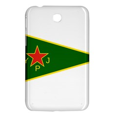 Flag Of The Women s Protection Units Samsung Galaxy Tab 3 (7 ) P3200 Hardshell Case