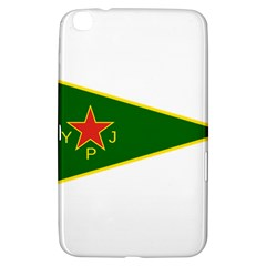 Flag Of The Women s Protection Units Samsung Galaxy Tab 3 (8 ) T3100 Hardshell Case