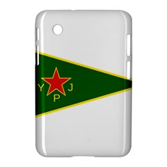 Flag Of The Women s Protection Units Samsung Galaxy Tab 2 (7 ) P3100 Hardshell Case