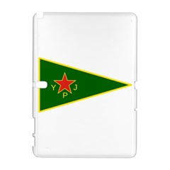 Flag Of The Women s Protection Units Samsung Galaxy Note 10.1 (P600) Hardshell Case by abbeyz71