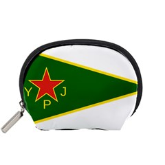 Flag Of The Women s Protection Units Accessory Pouches (small)  by abbeyz71