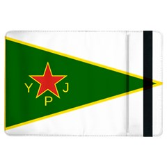 Flag Of The Women s Protection Units Ipad Air Flip by abbeyz71