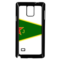 Flag Of The Women s Protection Units Samsung Galaxy Note 4 Case (black) by abbeyz71