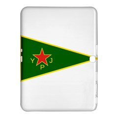 Flag Of The Women s Protection Units Samsung Galaxy Tab 4 (10 1 ) Hardshell Case