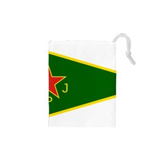 Flag Of The Women s Protection Units Drawstring Pouches (xs)  by abbeyz71