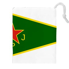 Flag Of The Women s Protection Units Drawstring Pouches (xxl) by abbeyz71