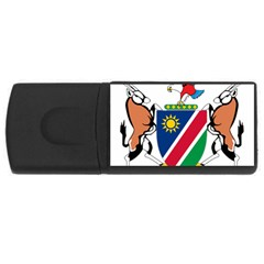 Coat Of Arms Of Namibia USB Flash Drive Rectangular (4 GB)  by abbeyz71