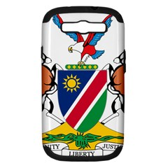 Coat Of Arms Of Namibia Samsung Galaxy S Iii Hardshell Case (pc+silicone)