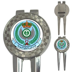 Emblem Of The Royal Saudi Air Force  3-in-1 Golf Divots by abbeyz71