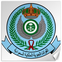 Emblem Of The Royal Saudi Air Force  Canvas 12  X 12
